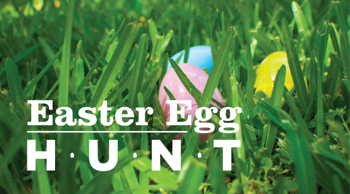 It's time for our egg hunt again!